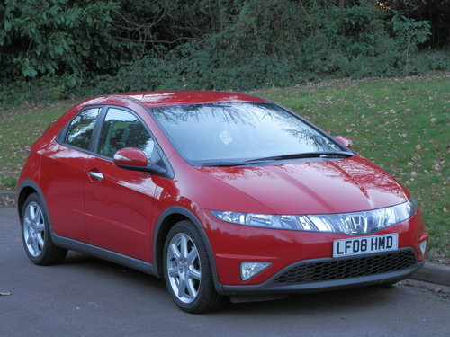 2008 LHD.. Left Hand Drive.. Honda Civic Sport.. 2.2 i-CTDi SOLD (picture 1 of 6)