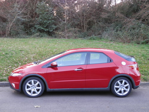 2008 LHD.. Left Hand Drive.. Honda Civic Sport.. 2.2 i-CTDi SOLD (picture 2 of 6)