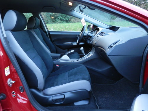 2008 LHD.. Left Hand Drive.. Honda Civic Sport.. 2.2 i-CTDi SOLD (picture 3 of 6)