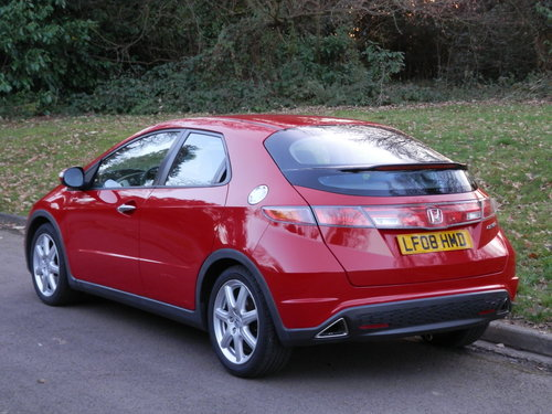 2008 LHD.. Left Hand Drive.. Honda Civic Sport.. 2.2 i-CTDi SOLD (picture 6 of 6)