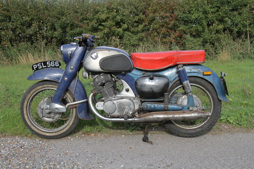 Honda C72 Dream 250 -1962 - UK Bike For Sale (picture 1 of 6)
