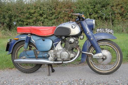 Honda C72 Dream 250 -1962 - UK Bike For Sale (picture 2 of 6)