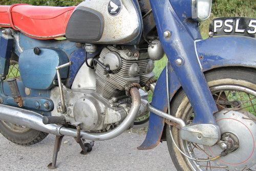 Honda C72 Dream 250 -1962 - UK Bike For Sale (picture 4 of 6)