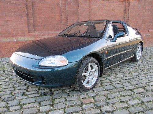 1996 HONDA CR-X DEL SOL COUPE CONVERTIBLE 1.6 MANUAL JDM IMPORT  For Sale (picture 1 of 6)