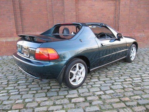 1996 HONDA CR-X DEL SOL COUPE CONVERTIBLE 1.6 MANUAL JDM IMPORT  For Sale (picture 2 of 6)