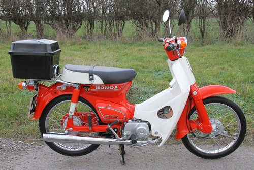 Honda C70 C - 1982 - 8000 - UK Bike Restored For Sale (picture 2 of 6)