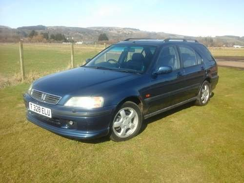 1999 Honda Civic VTi Aerodeck at Morris Leslie Auction 25th May SOLD by Auction (picture 1 of 6)