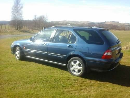 1999 Honda Civic VTi Aerodeck at Morris Leslie Auction 25th May SOLD by Auction (picture 3 of 6)