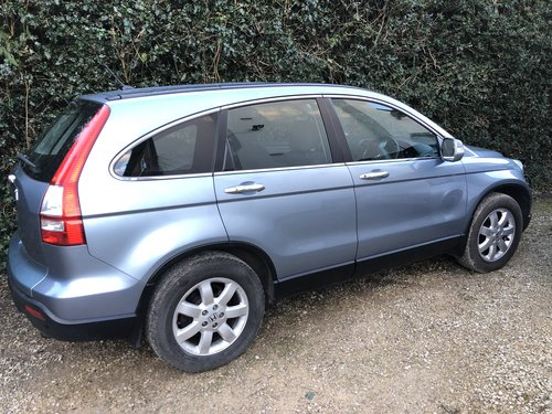 2007 CRV 2.2 Cdti  6 speed manual.  For Hire (picture 1 of 4)