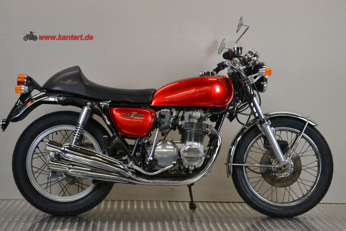 1975 Honda CB 500 Four, 494 cc, 48 hp For Sale (picture 1 of 6)
