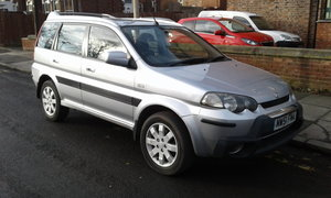 2002 HONDA HRV  LOW MILES AUTO FULL SERVICE HISTORY SOLD
