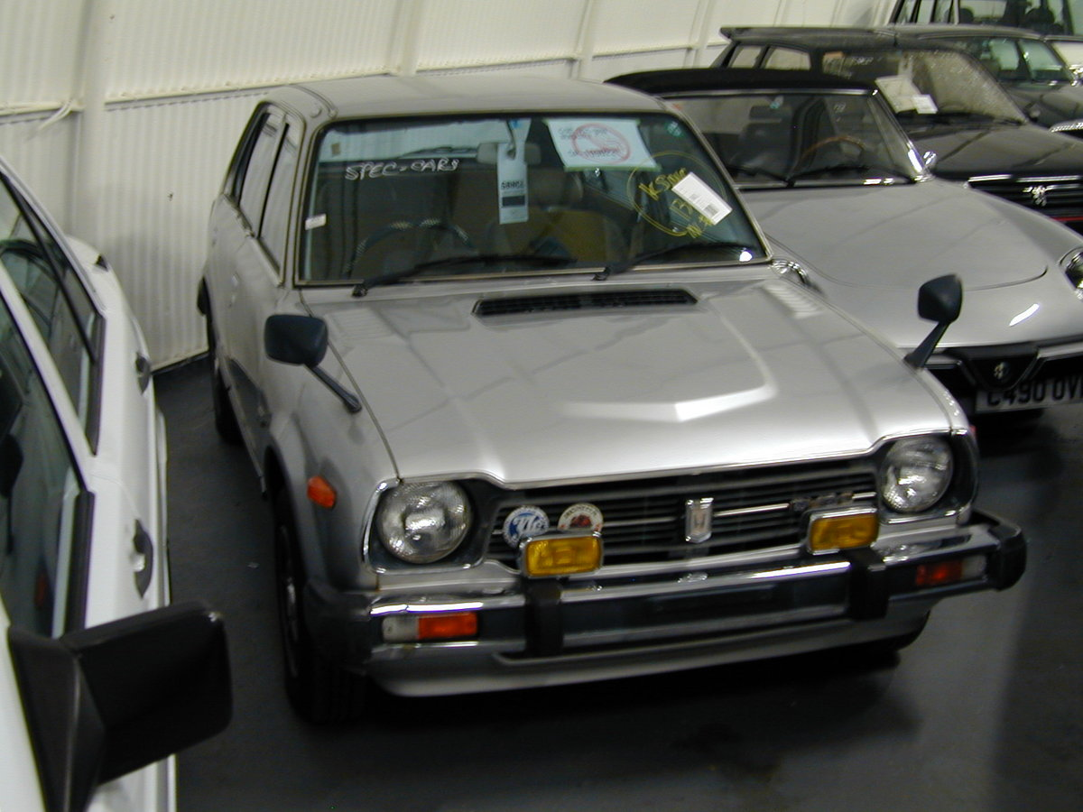 1979 HONDA CIVIC GEN 1 MK1 1.3 MANUAL - 27k MILES! RHD EX JAPAN! For Sale (picture 1 of 6)