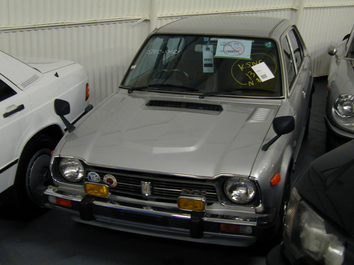 1979 HONDA CIVIC GEN 1 MK1 1.3 MANUAL - 27k MILES! RHD EX JAPAN! For Sale (picture 2 of 6)