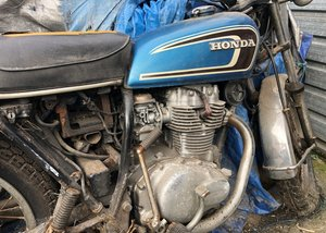 1975 Honda CB 250G SOLD by Auction