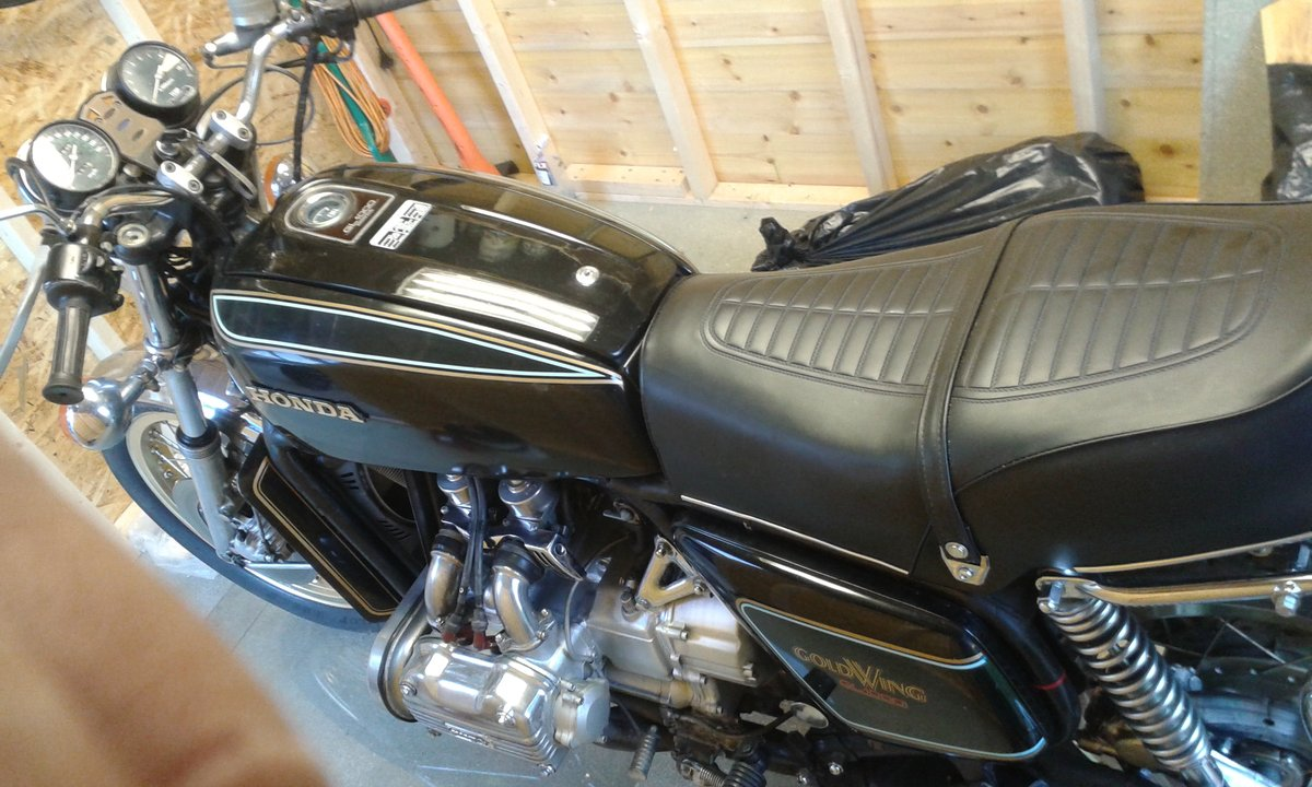 1977 Honda Goldwing Plain Jane For Sale (picture 2 of 3)