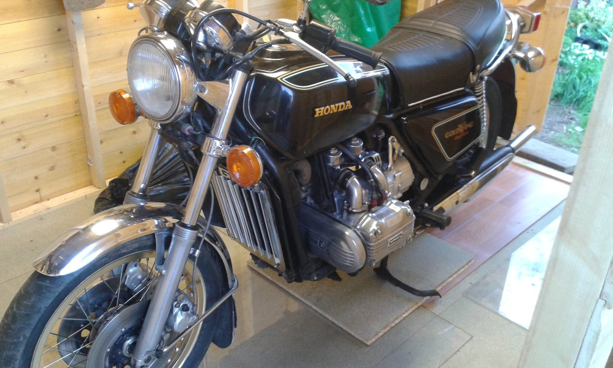 1977 Honda Goldwing Plain Jane For Sale (picture 3 of 3)