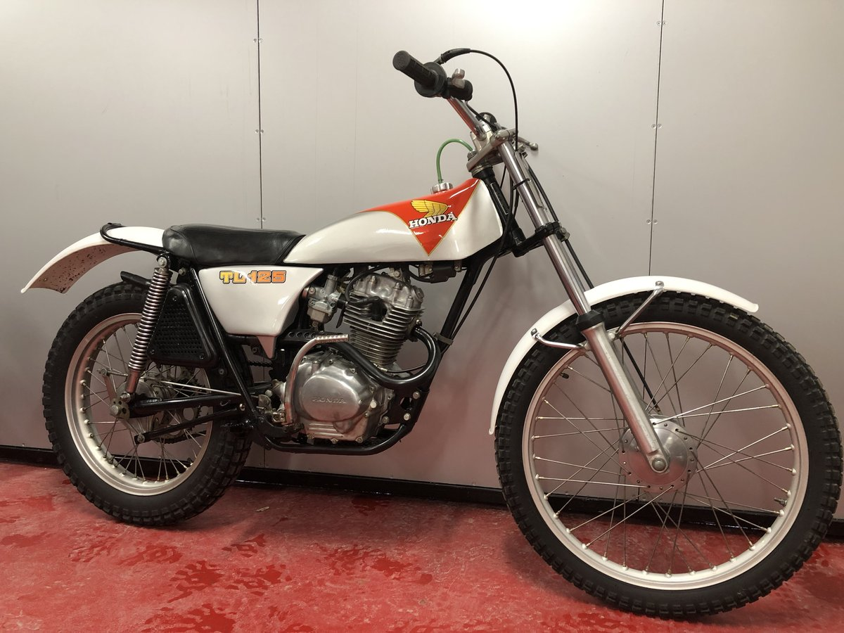 1978 HONDA TL 125 TRIAL LOVELY BIKE RUNS MINT! £3295 OFFERS PX For Sale (picture 1 of 5)