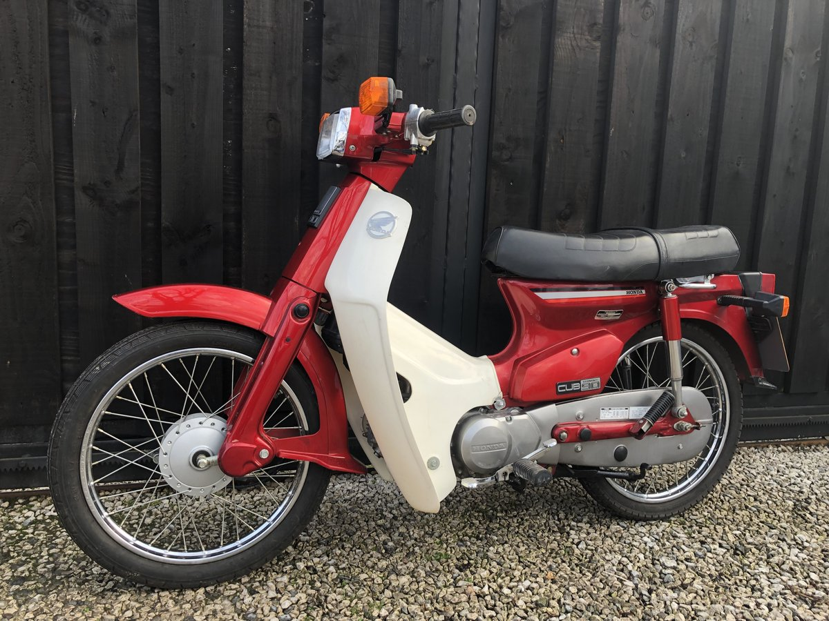 1982 HONDA C90 C 90 CUB CLASSIC ONLY 3500 MILES £2995 OFFERS  For Sale (picture 5 of 6)