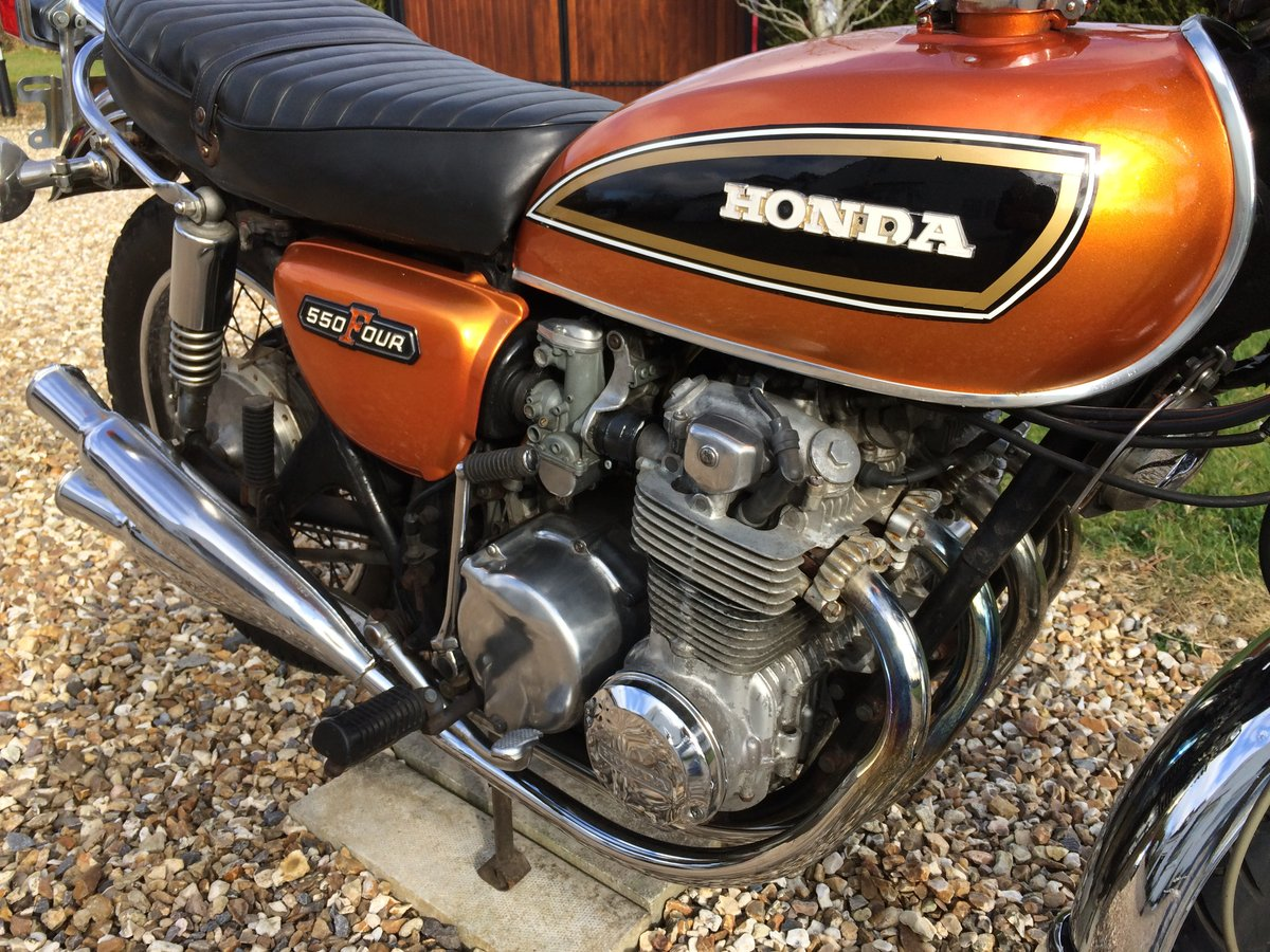 1976 Honda CB550 K2 For Sale For Sale (picture 4 of 6)