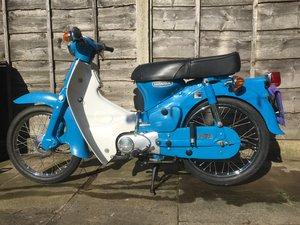 Honda c70 1980 in original condition 3950 miles