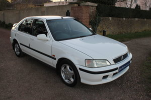 1997 Civic 1.6i SR With Low Mileage & Comprehensive S/History  SOLD