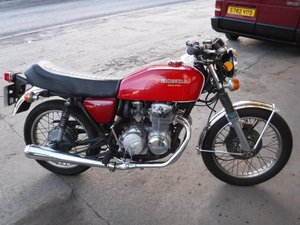 **MARCH AUCTION**1976 Honda 400 Four SOLD by Auction