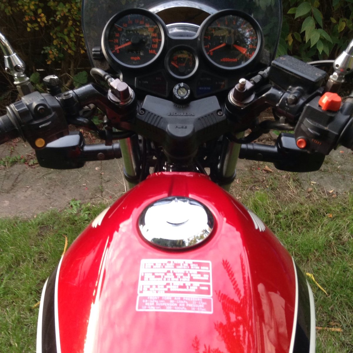1987 Honda cbx 550 f For Sale (picture 6 of 6)