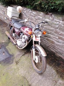 1981 Honda cg125 project