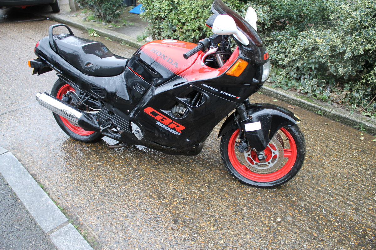 1987 Honda CBR1000F Super Sport With Just 1600 Miles From New For Sale (picture 1 of 6)