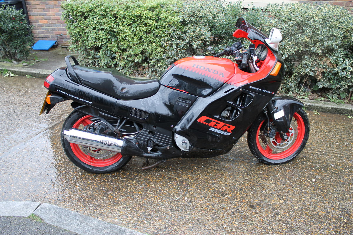 1987 Honda CBR1000F Super Sport With Just 1600 Miles From New For Sale (picture 2 of 6)
