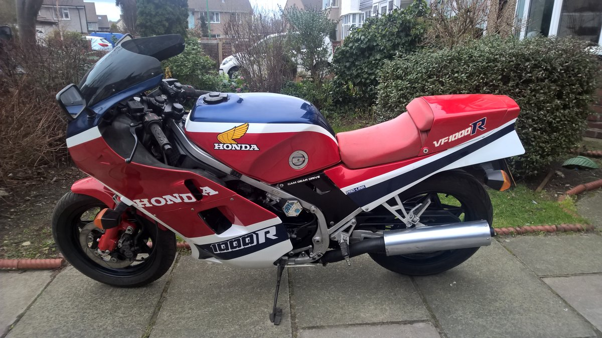 1985 VF1000R Totally original and immaculate For Sale (picture 1 of 6)