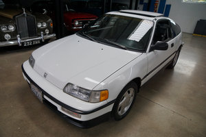 Orig Calif Owner 1991 Honda CRX Si 5 spd SOLD
