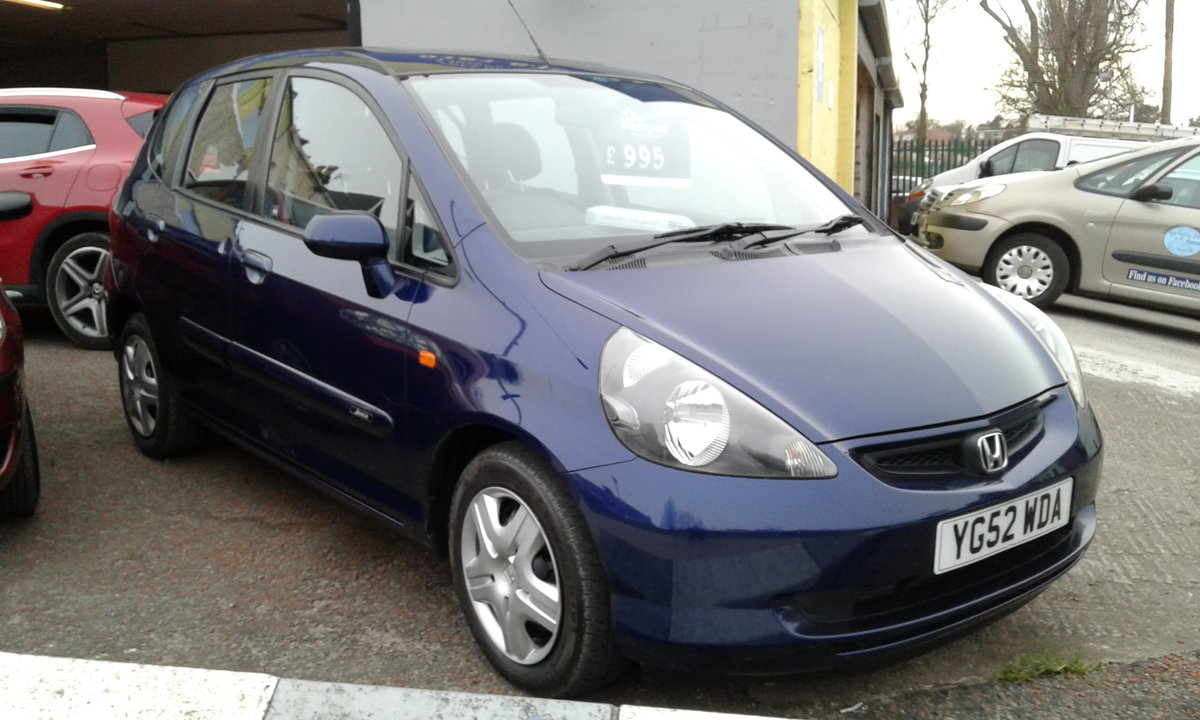 2002 HONDA JAZZ 1.2 5 DOOR SE  OUTSTANDING SOLD (picture 1 of 4)