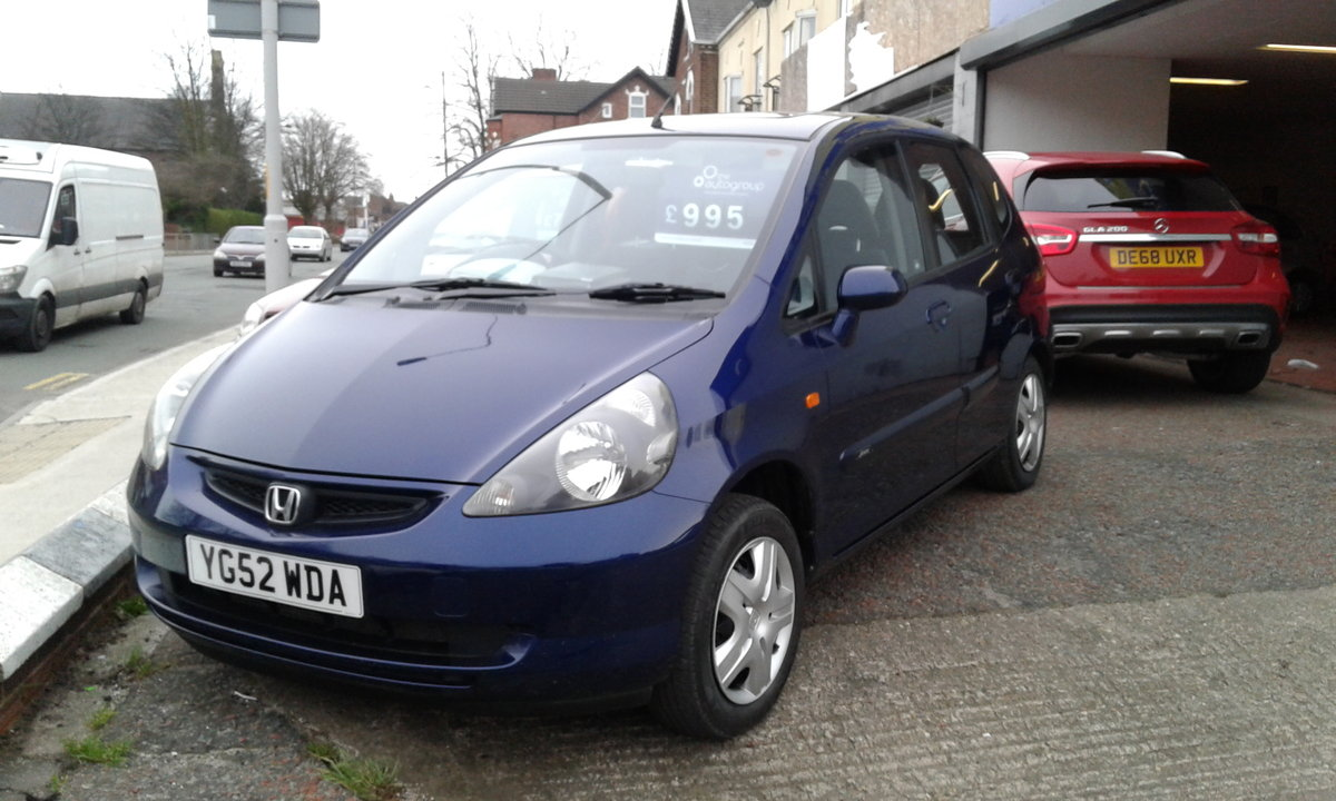 2002 HONDA JAZZ 1.2 5 DOOR SE  OUTSTANDING SOLD (picture 2 of 4)