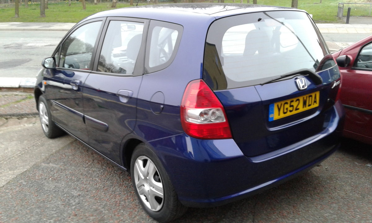 2002 HONDA JAZZ 1.2 5 DOOR SE  OUTSTANDING SOLD (picture 4 of 4)