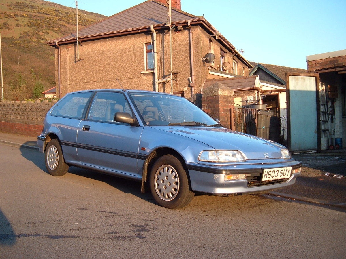 1991 Honda Civic 16 valve GL automatic SOLD (picture 1 of 6)