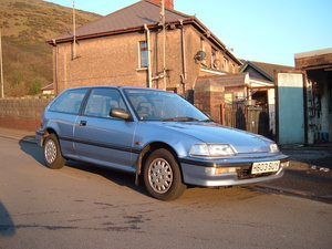1991 Honda Civic 16 valve GL automatic For Sale