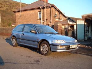 1991 Honda Civic 16 valve GL automatic For Sale