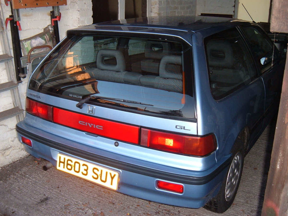 1991 Honda Civic 16 valve GL automatic SOLD (picture 2 of 6)