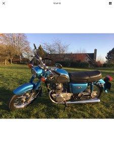 1974 Honda CD175 - Lovely Restored bike long Mot