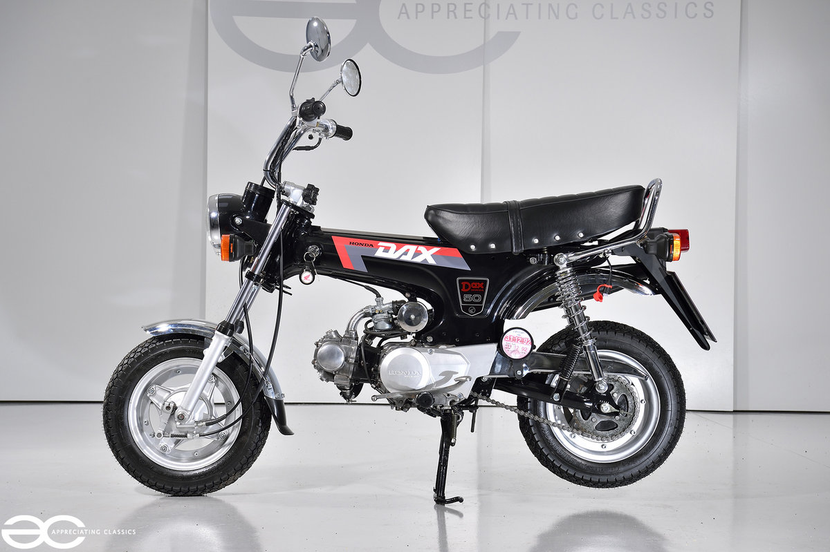 1992 Honda ST 50 Dax 'Monkey Bike' Fully Restored & Beautiful SOLD (picture 1 of 6)