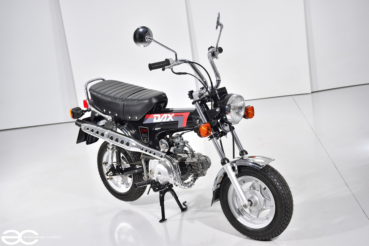 1992 Honda ST 50 Dax 'Monkey Bike' Fully Restored & Beautiful SOLD (picture 3 of 6)