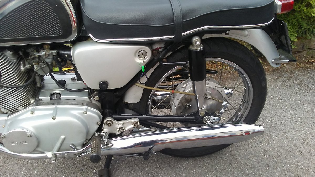 Honda CB72 1966 For Sale (picture 6 of 6)