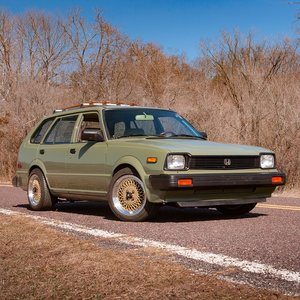 1983 Honda Civic Wagon = Fast Custom LS B18 Swap $17.9k For Sale