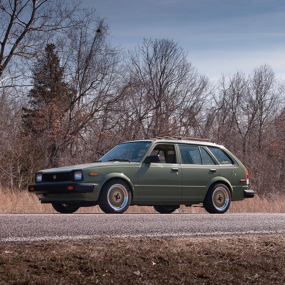 1983 Honda Civic Wagon = Fast Custom LS B18 Swap $17.9k For Sale (picture 2 of 6)