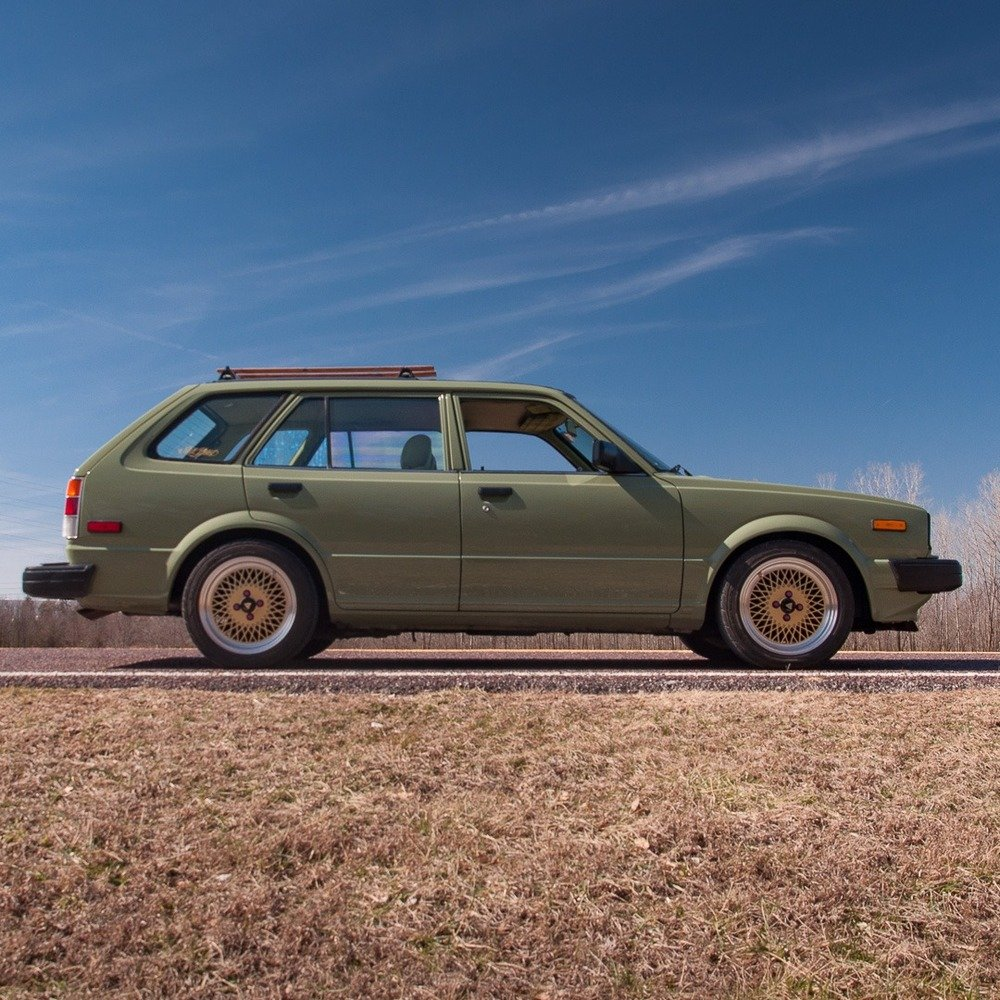 1983 Honda Civic Wagon = Fast Custom LS B18 Swap $17.9k For Sale (picture 3 of 6)