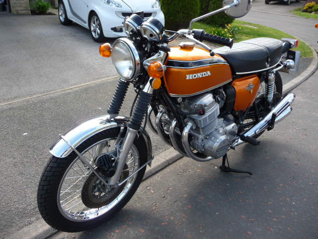 1972 Honda CB750 Four K2 - UK Bike !! For Sale (picture 1 of 6)