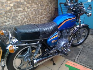 1981 Concourse all original UK Honda cb400a For Sale