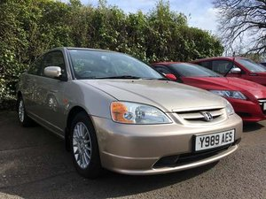 2001 Honda Civic Coupe at Morris Leslie Auction 25th May For Sale by Auction