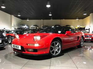 1995 HONDA NSX 3.0 FORMULA RED UK SUPPLIED FULL HONDA HISTORY